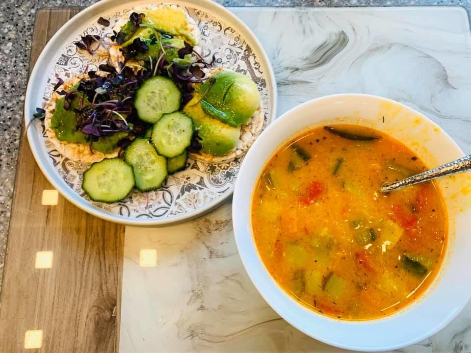 Cупчик из дала (lēcas) и овощей