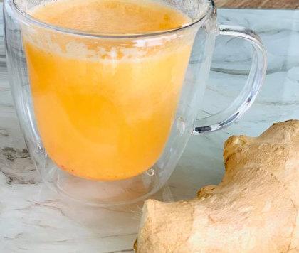 [АНТИВИРУС]  Имбирный напиток с лимоном и медом!
