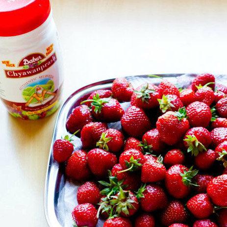Праник Чаванпраш с ягодами